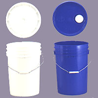 *6 Gallons -24L Plastic Pail, Plastic buckets, Plastic Containers