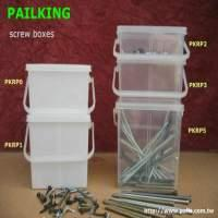 *Screw buckets, Fastener pails, Nail boxes, Screw Containers