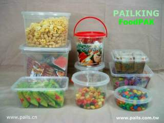 Food Pails, Containers