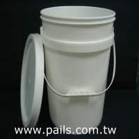 *5Gallons -18.9L Plastic Pail, Plastic buckets, Plastic Containers